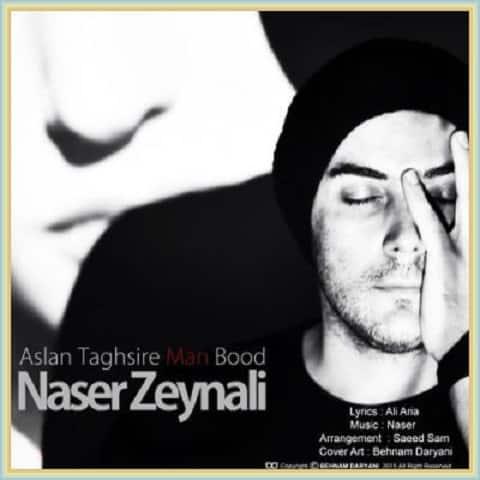 دانلود آهنگ اصلا تقصیر من بود از ناصر زینعلی